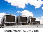 cooling system warehouse | Shutterstock . vector #572219188