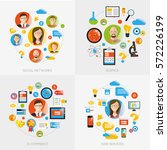 set of infographic images with...   Shutterstock .eps vector #572226199