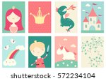 collection of banner ... | Shutterstock .eps vector #572234104