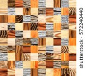 seamless background with wooden ... | Shutterstock . vector #572240440