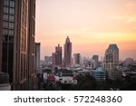 office building in the city  | Shutterstock . vector #572248360
