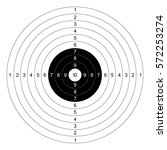gun shooting paper targets... | Shutterstock .eps vector #572253274