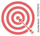 vector illustration of archery... | Shutterstock .eps vector #572259076