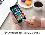 alushta  russia   november 19 ... | Shutterstock . vector #572264458