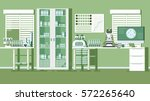 medical laboratory illustration | Shutterstock .eps vector #572265640