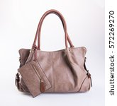 Bag Or Women Bag On A Background
