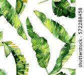 seamless watercolor... | Shutterstock . vector #572288458