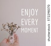 inspiration motivation quote... | Shutterstock . vector #572298370