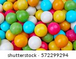 bubble gum chewing gum balls... | Shutterstock . vector #572299294