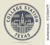 grunge rubber stamp or label... | Shutterstock .eps vector #572306479