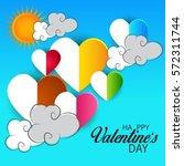 vector illustration of a banner ... | Shutterstock .eps vector #572311744
