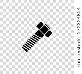 Screw Bolt Vector Icon