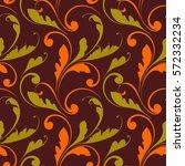 design ethnic seamless pattern. ... | Shutterstock .eps vector #572332234