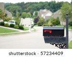 mailbox in a beautiful... | Shutterstock . vector #57234409