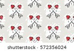 hand drawn vector abstract... | Shutterstock .eps vector #572356024