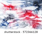 abstract hand made watercolor... | Shutterstock . vector #572366128