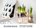 white scandinavian spring... | Shutterstock . vector #572371498