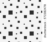 gray square seamless pattern.... | Shutterstock .eps vector #572382478
