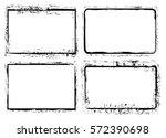 grunge border frame.grunge... | Shutterstock .eps vector #572390698