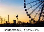 The Ferris Wheel And The Eiffel ...