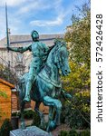 Equestrian Statue Of Joan Of...