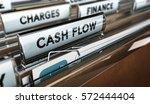 3d illustration of a folder tab ... | Shutterstock . vector #572444404