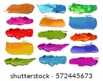 Abstract Acrylic Color Brush...