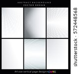 abstract geometric backgrounds... | Shutterstock .eps vector #572448568