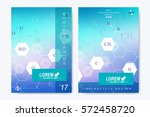 modern vector template for... | Shutterstock .eps vector #572458720