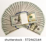 Stack Of Money In Us Dollars I...