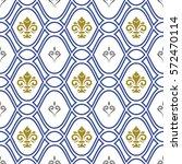 seamless vector pattern. modern ... | Shutterstock .eps vector #572470114