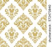 oriental vector classic golden... | Shutterstock .eps vector #572473840