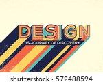 design concept in modern... | Shutterstock .eps vector #572488594