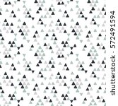 seamless hand drawn geometric... | Shutterstock .eps vector #572491594