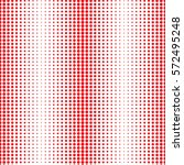 seamless pattern with red dots. ... | Shutterstock .eps vector #572495248