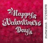 "silver glitter lettering ""happy ...   Shutterstock .eps vector #572500498"