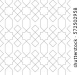 Islamic Line Pattern. Seamless...