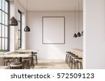 bar interior with a row of... | Shutterstock . vector #572509123