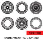 vector design elements. round... | Shutterstock .eps vector #572524300