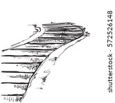 Landscape With Staircase ...