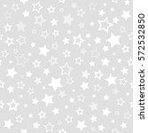white stars seamless pattern.... | Shutterstock . vector #572532850