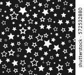 white stars on a black...   Shutterstock . vector #572532880