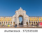 lisbon  portugal   6 feb 2017 ... | Shutterstock . vector #572535100