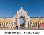 lisbon  portugal   6 feb 2017 ...   Shutterstock . vector #572535100