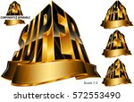 awards for super  great  best ... | Shutterstock .eps vector #572553490