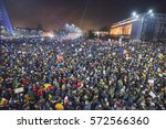 bucharest  romania   february 5 ... | Shutterstock . vector #572566360
