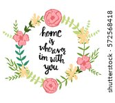 "handwritten text ""home is... 