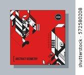 square background design... | Shutterstock .eps vector #572580208