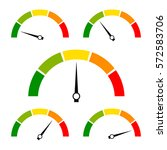 speed metering icon vector... | Shutterstock .eps vector #572583706