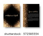 glimmer background with light... | Shutterstock .eps vector #572585554